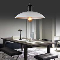 E27 Modern  Edison Pendant Retro Light Pendant Lights Vintae Lamp Decoration Black,White Color