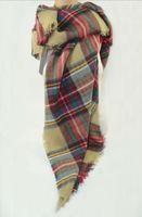 3Colors Women Tartan Scarf Wrap Shawl Neck Stole Warm Plaid Checked Pashmina
