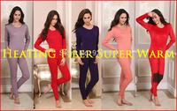 2014 TOP Winter thermal underwear woman,Prevent arthritis,Super warm women's thermal underwear,Thick fleece Women Long Johns