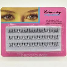 60pcs Set Individual Lashe Black False Eyelash Natural Long Cluster Extension Makeup Beauty Health Makeup 8