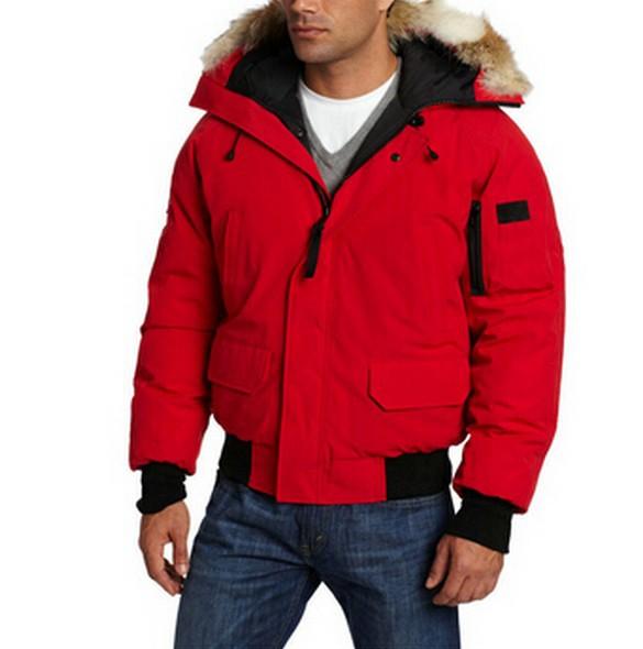 Goose Down Parka Winter Thickening With A Hood Short Design Wadded Jacket Men Warm Fashion Brand Designer Warm Coat(China (Mainland))