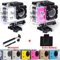 New Action Camera SJ4000 Wifi Full HD DVR Sport DV 1080P Helmet Waterproof Sport Camera Motor Mini DV Gopro Style