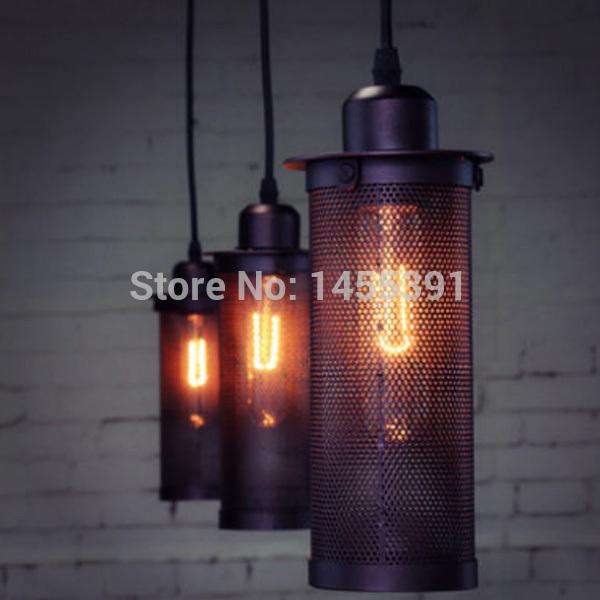 Modern Edison Personality Industrial Lighting Counter Lamps Vintage Pendant Lights Pendant Lamp Edison Bulbs AC 110-220V A(China (Mainland))