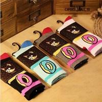 Men Women brand odd future donuts wool cotton Long weed Socks fashion Hip hop Skateboard fixed gear Sport meias Calcetines