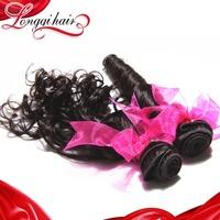 4pcs Lot Mixed Length Peruvian Hair Weft Unprocessed Virgin Hair Loose Wave Human Hair Extension Longqi Hair