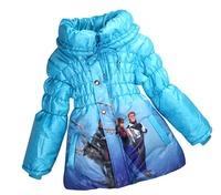 Retail - Free shipping Autumn Winter New Arrival frozen jacket,girl jacket,cartoon coat
