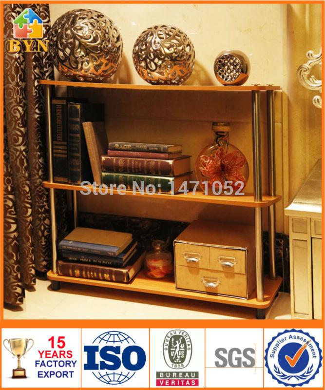 BYN bedroom 3 tier wooden display storage rack corner shelf wood DQ-W0903(China (Mainland))
