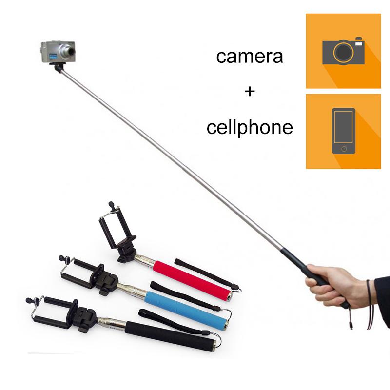 extendable self portrait handheld self timer selfie stick monopod pau de selfie stick bluetooth. Black Bedroom Furniture Sets. Home Design Ideas