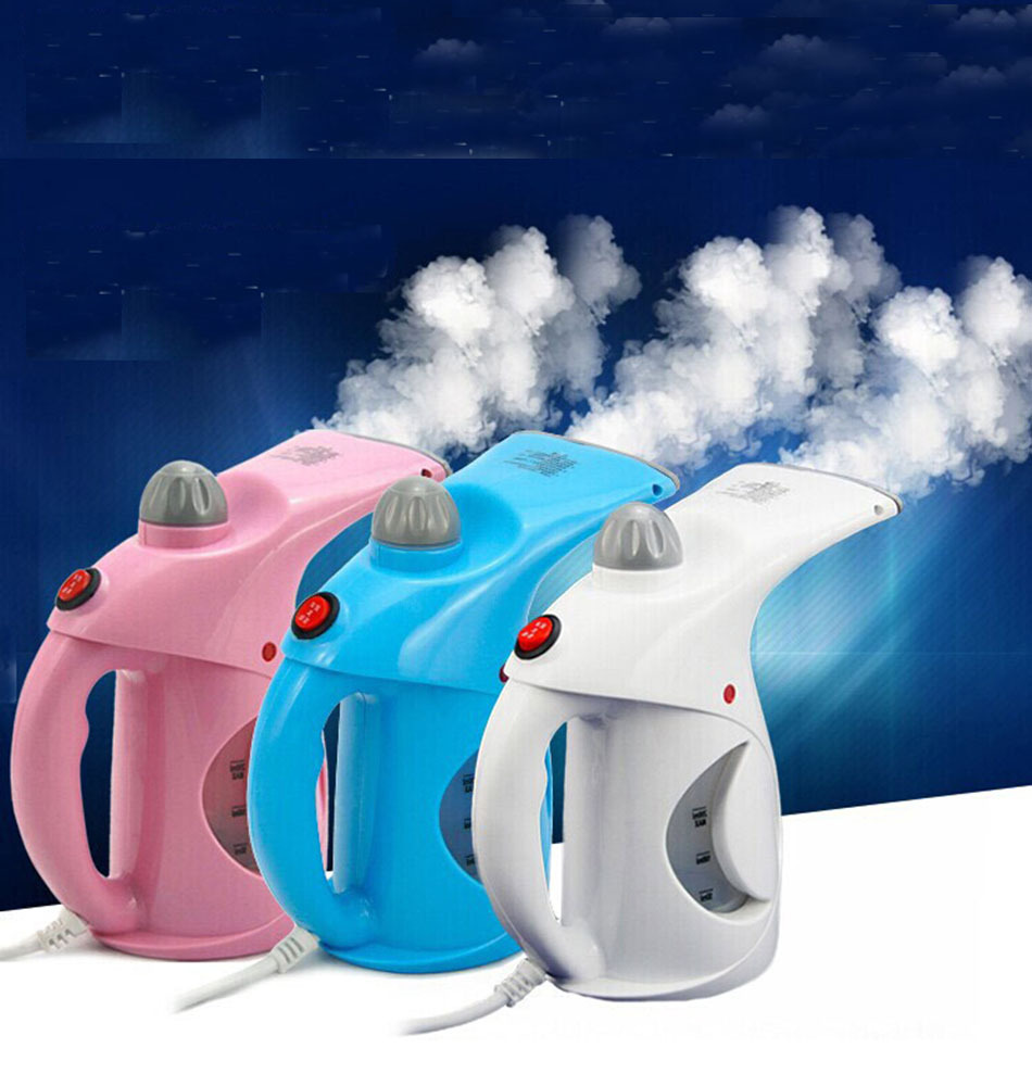 Portable household device clothes set steamer EU Plug 220V garment clean steam brush hand handle(China (Mainland))