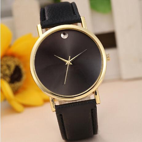 Free Shipping Style Fashion Quartz Casual Watch Women Dress Watch Retro Design Leather Band Analog Alloy Wristwatch High Quality(China (Mainland))