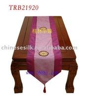 100%polyester table runner,silk table runner,brocade table cloth