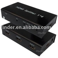1x4 HDMI Splitter (Mini HDMI Amplifier Splitter)