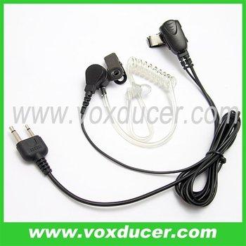 Surveillance kit earphone for Icom transceiver IC-F3 IC-F3S IC-F4 IC-F4S IC-F10 IC-F20 IC-H2 IC-H6 IC-J12 IC-M5 IC-U12 IC-U16