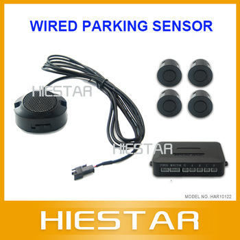 Car Reverse Backup Rear Radar System Kit Parking Sensors 50pcs/lot Free Shipping Via DHL/FedEx