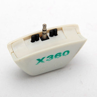 free shipping Headphone Headset Converter Adaptor For XBOX 360 Earphone/Mic