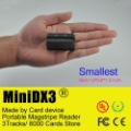 Mini 123 Mini123ex upgrade portable card reader Mini DX3