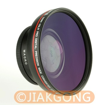 58mm 0.5x WIDE Angle LENS with Macro LENS Black