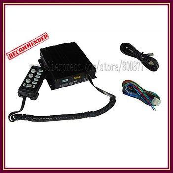 (CJB-100Z) 100W siren/ 10 tones/ with Microphone/ 2 light switch/ 8 ohm  (Without Speaker)