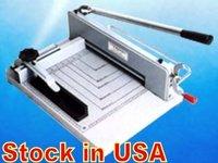"""12"""" manual paper cutter machine, desktop stack paper cutting machine, guillotine, Item stock in USA warehouse."""