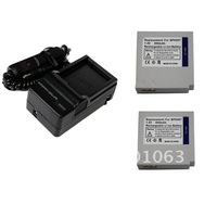 2x Battery+Charger for Samsung IA-BP85NF IA-BP85ST VP-MX10 VP-MX20 VP-HMX20 HMX-H1062 HMX-H1052 SC-HMX10 VP-HMX08 SMX-F30