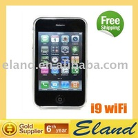 i9 wifi mobile phone quad band cheap price free shipping