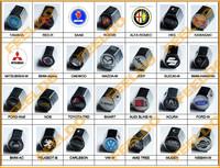 20Set Car Tire Valve Caps 4pcs + wrench key chain For Mixed logo