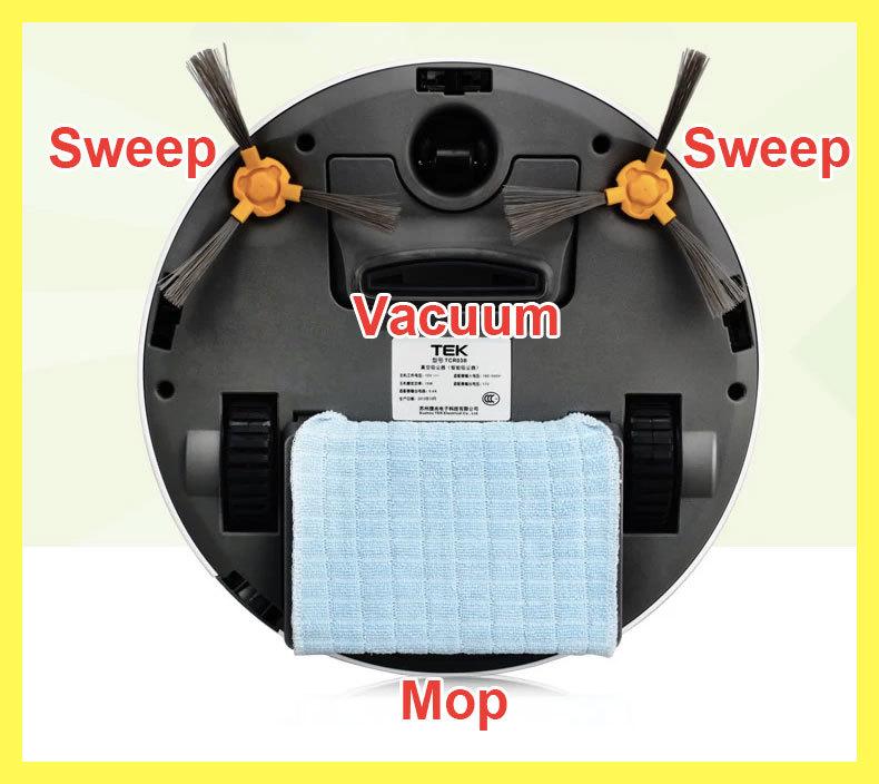 FREE SHIP ECOVACS TEK Robot Vacuum Cleaner, CR100, mini Deebot, Robo Aspirador, Brushes Robot Cleaner Tools, Sweep, Vacuum, Mop(China (Mainland))