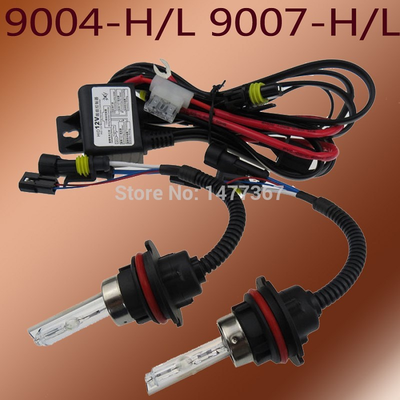 NEW Brand 35W HID Bi-Xenon Kit bulbs H4 H13 9007 Bi-Xenon Lamp(China (Mainland))