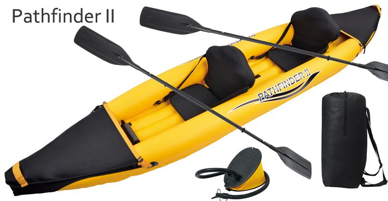 Pathfinder II 2 preson inflatable sport boat 376*77*34CM, 2 pair 221cm Alumnium oars, pump, repair kit.kayak,canoe,sport boat(China (Mainland))