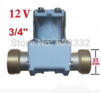 Electromagnetic valve/Solenoid valve DC12V, pressurized valve, 3/4'' size