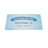 50pc Teeth Whitening  Wipes Finfer Brush For Teeth Whitening Mint Flavor Teeth Wipes In Stock