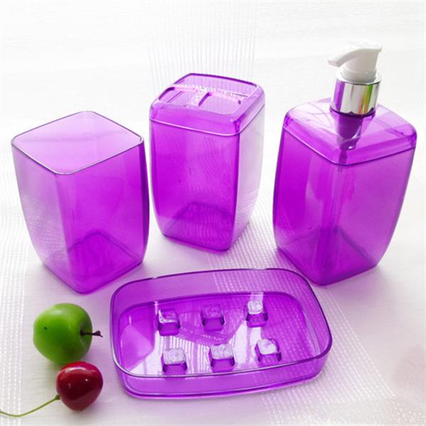 Juegos De Baño Jaboneras:de jabón de champú botella titulares de cepillo de dientes caja de