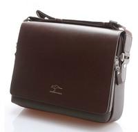 Promotion 2014 Genuine Kangaroo Leather Men Messenger Bags Man Shoulder Bag Vintage Handbags Men's Travel Bags Business IPAD Bag