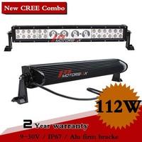 25 Inch 112W CREE LED Work Light Bar IP67 12V 24V for 4WD 4x4 Offroad Truck Car Fog light External Light Save on 164W 224W