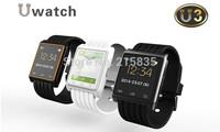 2014 Hot Newest Sexy Smart Watch Bluetooth Sync Smartwatch WristWatch Wrist Wrap Watch U3 Phone Mate Handsfree For IOS Android