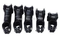 Aluminum Alloy 32/60/80/90/100mm MTB mountain road bike bicycle handlebar stem 25.4/31.8mm diameter clamp black new