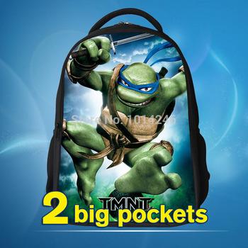 На открытом воздухе рюкзак для детей, Комикс 38см-ниндзя черепаха мальчики школьный, ...