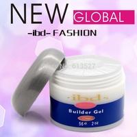 1pcs Acrylic nail Gel saloon Clear IBD Builder Gel  IBD Builder Gel 2oz / 56g - Strong UV gel for nail art false tips extension