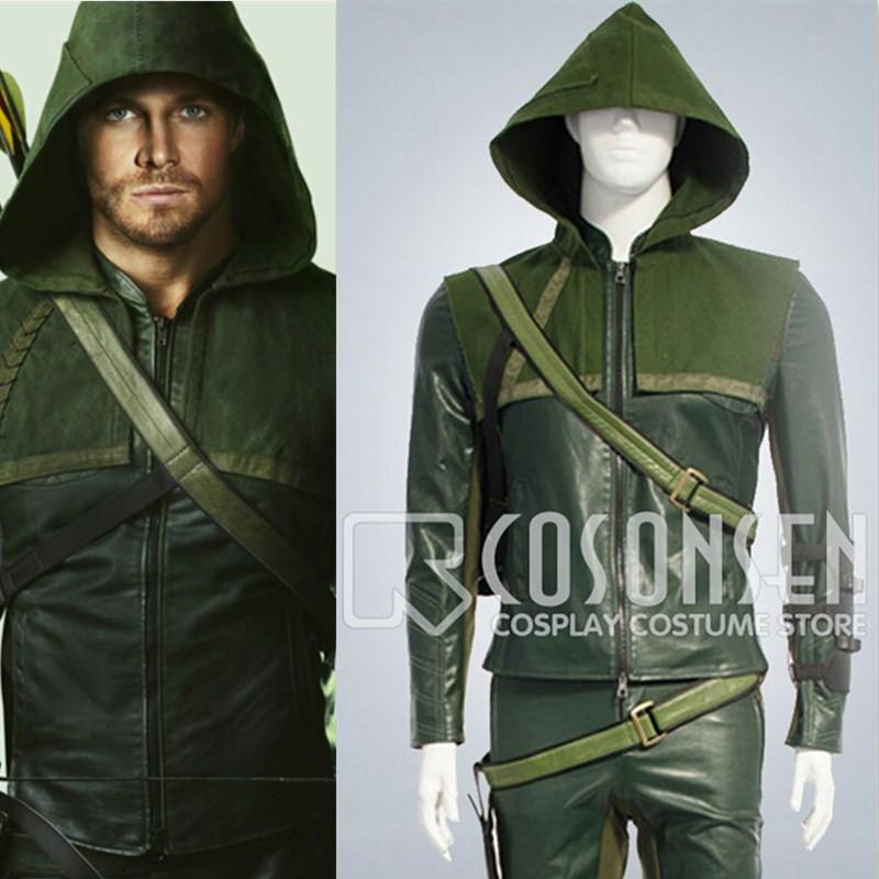 Green Arrow Costume For Sale Green Arrow Cosplay Costume