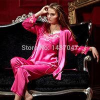 Sexy Squirrel long sleeve satin nightgown batgirl pajamas Dress Knitted None Acetate Short Animal Sleep Home Suit Pajamas Set