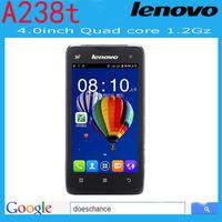 Original lenovo phone  Dual Sim 4.0 inch Original Lenovo A238T android phone Dual camera Bluetooth Russian Language mobile phone