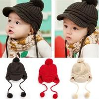 New 2014 Spring Children's Knitted Hats Boys Caps For Children Accessories Cotton Baby Girls Autumn Hat  SV19 SV009562