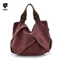 fashion Korean version desigual handbag diagonal retro casual canvas shoulder bag national wind women messenger bags handbags