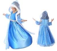 2014 Hot Frozen Anna Elsa Dress Girls Baby Kids Party Princess Dress Summer Vestidos De Menina Costume Cosplay