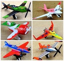 6pcs/lot Dusty Planes Pixar Toy Aircraft Classic Toys for Children DIY ishani  Ripslinger  Skipper Bulldog EL Chupacabra Blocks(China (Mainland))
