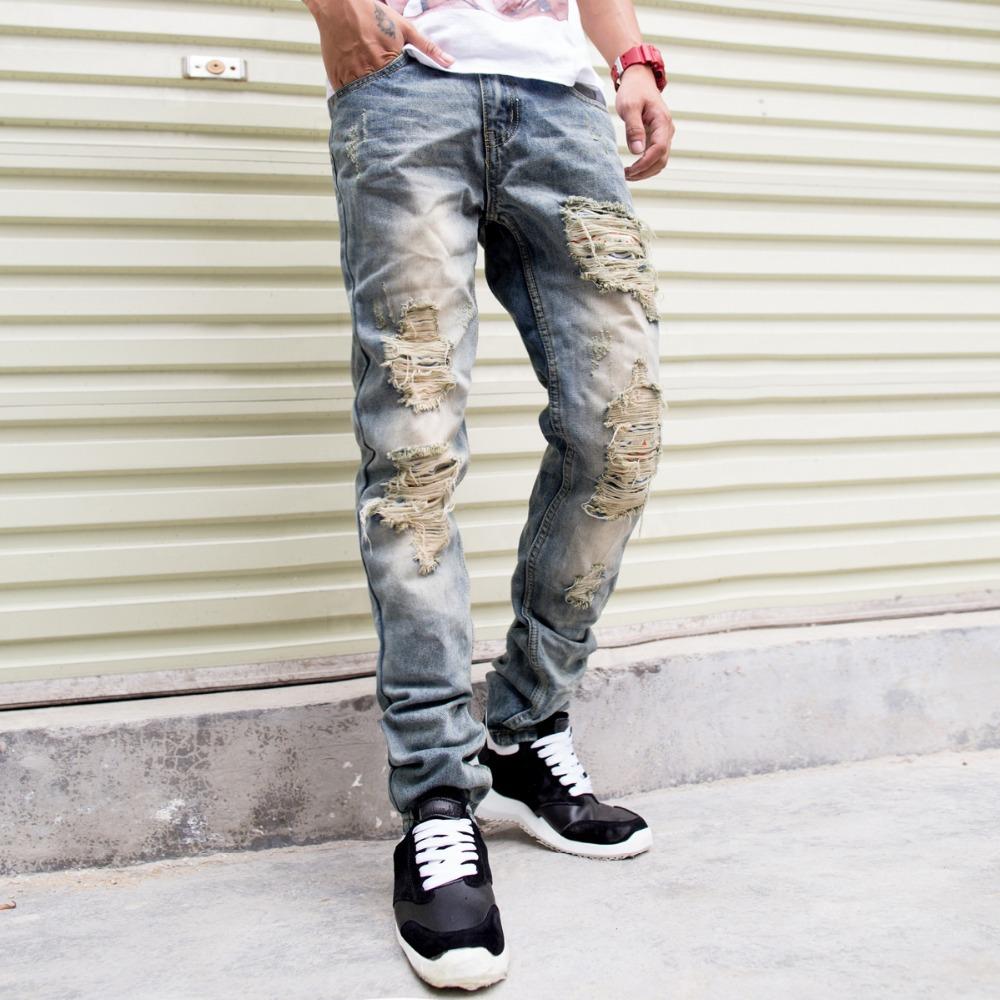 Рваные джинсы для мужчин