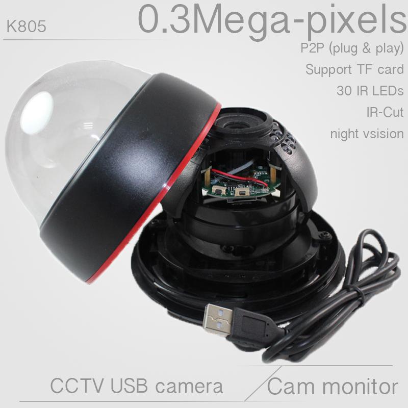 Hot selling outdoor security CMOS CCTV Camera USB waterproof USB Camera IR Night Vision15m DVR Recorder Camera Free Shipping(China (Mainland))