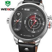 WEIDE Wristwatch High Quality Japan Quartz Movement Fashion & Casual Style Men's Diving Watch Relogio Masculino