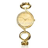Grady brand New women fashion watch stainless steel golden bracelet free shipping