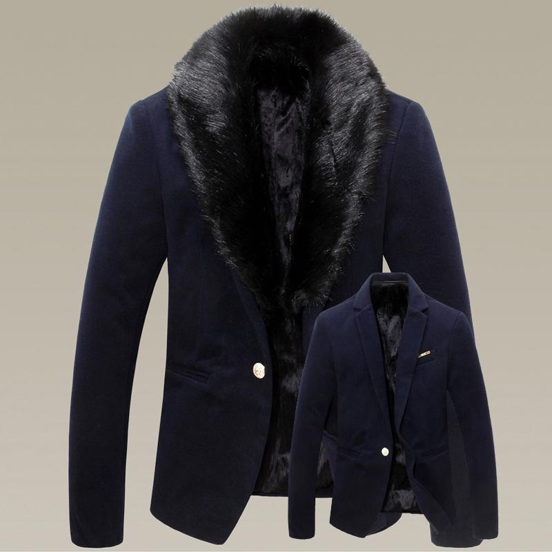 Зимнее мужское пальто с мехом купить